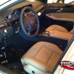 more e-sedan interior