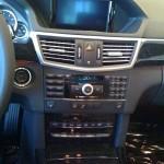 Inside the E-sedan