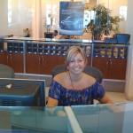 MB LB's friendly receptionist