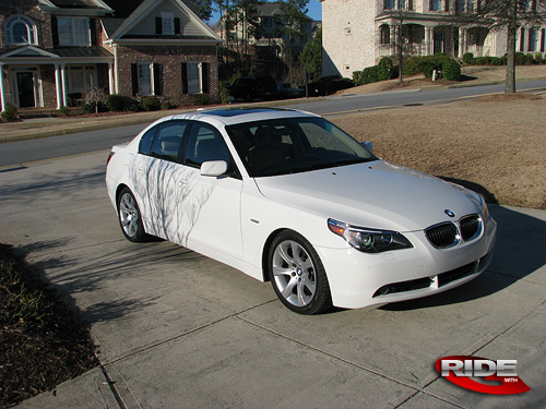 The Wall Spartanga S 2007 Bmw 550i Sport Ride With G