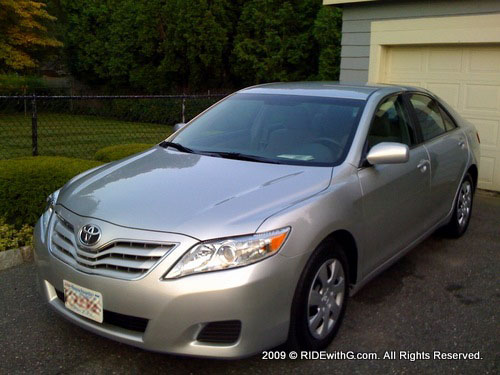 Camry LE exterior