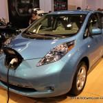 Nissan Leaf. Hi.