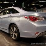 Sonata Hybrid rear