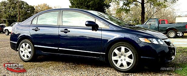 What Heu0027s Got: 2011 Royal Blue Honda Civic LX Sedan