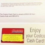 Got my Costco Cash!