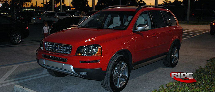 The Wall: Zamo's 2010 Volvo XC90 R-Design - RIDE with G